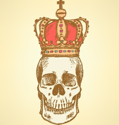 Crown scull vector