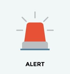 Danger light icon vector