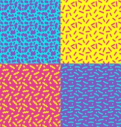 seamless background 80s1 vector image