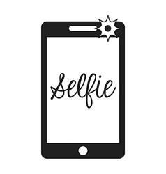 selfie photo vector image