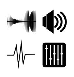 Voice messages design vector