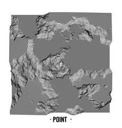 Abstract point noise background vector