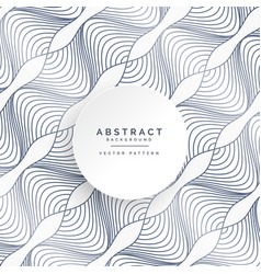 Abstract curvy lines pattern background vector