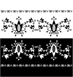 Folk pattern decor-7 vector