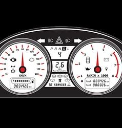 Dashboard vector