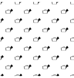 Medical bag pattern simple style vector image