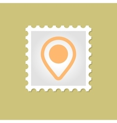 Map pointer stamp vector