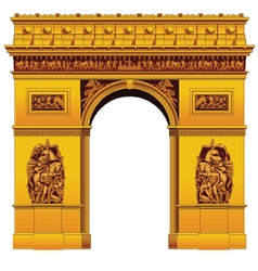 Arc de triumph vector