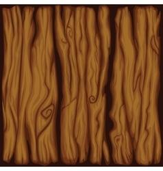 Cartoon wood board texture vector