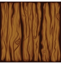 cartoon wood board texture vector image