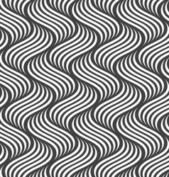 Flat gray with striped ripples vector