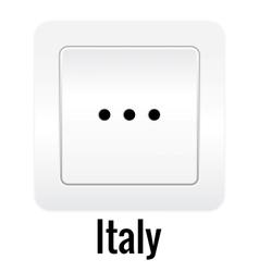 Socket design vector image vector image