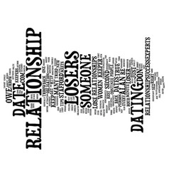 Lose the losers text background word cloud concept vector