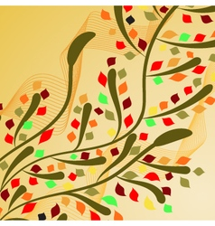 Autumn ornament 1 vector