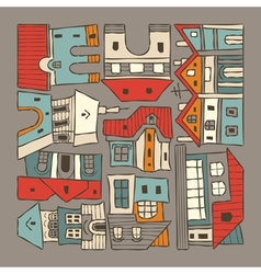 City houses houses vector