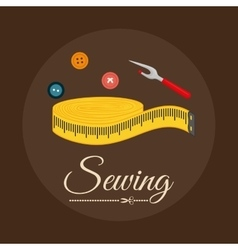 Sewing icon design vector