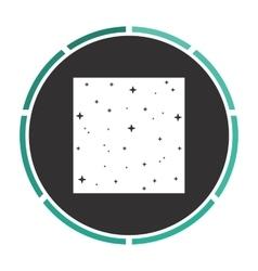 Starry night computer symbol vector
