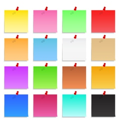 Post-it Notes vector image