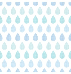 Abstract textile blue rain drops stripes seamless vector image