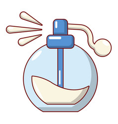 perfume bottle spray icon cartoon style vector image