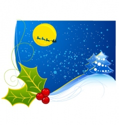 preview Christmas vector image