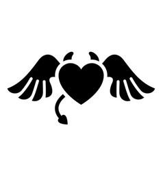 Romantic love symbol vector