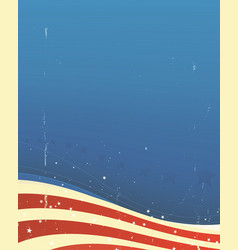 american background vector image