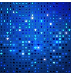 Disco background with stars vector image vector image