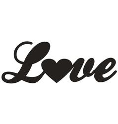 Love design icon vector image