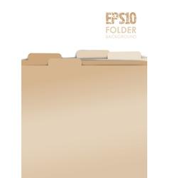 Paper folders vector