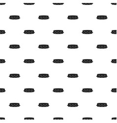 Rock collar pattern vector