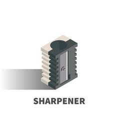 sharpener icon symbol vector image vector image