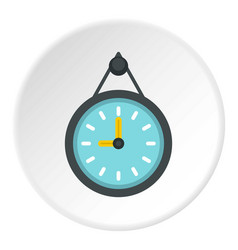 Wall clock icon circle vector