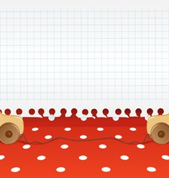 Toys background vector image vector image