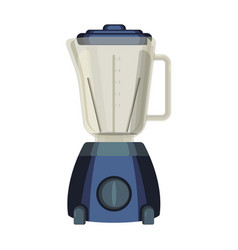 Blender liquidiser kitchen appliance used to mix vector