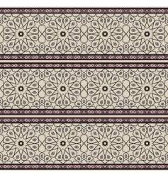 Persian pattern vector image