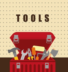 Tools on box vector