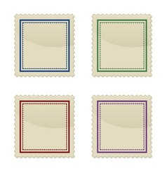 Set of stamp vector