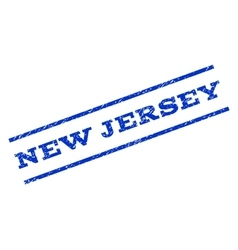 New jersey watermark stamp vector