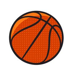 basketball 001 vector image