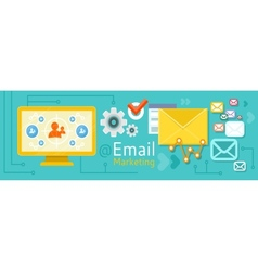 Icon for internet marketing vector
