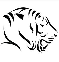 Tiger symbol vector