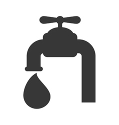 Tap drop water icon graphic vector