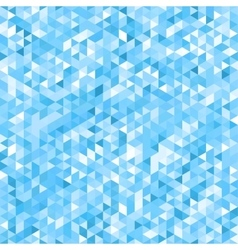 Blue mosaic background - seamless vector