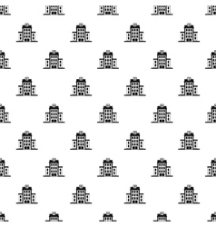 Hospital pattern simple style vector