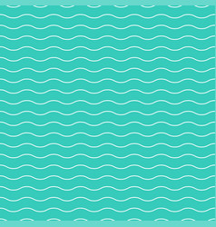 Wavy seamless striped pattern simple background vector