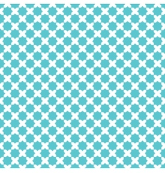 Moroccan cross star pattern background vector
