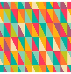 Right triangle pattern vector