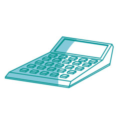Drawing calculator financial economy equipment vector