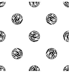 Far away planet pattern seamless black vector